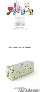 BT21 X Monopoly - C-Pocket Pattern Pouch (CHIMMY)