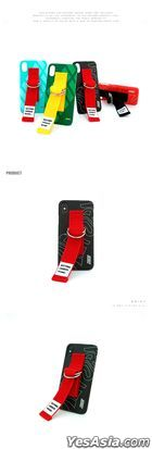 datasoda iKON PHONECASE RUBBERBAND BLACK (GALAXY NOTE 8)
