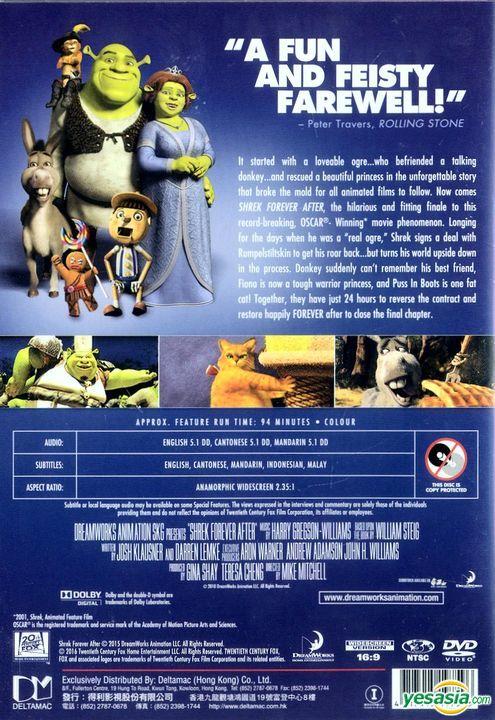 Yesasia Shrek Forever After 2010 Dvd Deltamac Version Reprint Hong Kong Version Dvd Dreamworks Western World Movies Videos Free Shipping