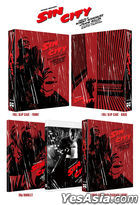 Sin City (Blu-ray) (2-Disc) (Recut, Extended, Unrated Edition) (Korea Version)