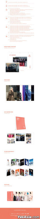 BTS Memories Of 2019 (6DVD + Ring Binder Cover & Photobook + Paper Frame & Postcard + Photo Index + Folding Mini Booklet + Photo Card) (Korea Version)