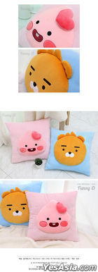 Kakao Friends Little Point Square Cushion (Ryan)