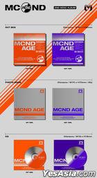 MCND Mini Album Vol. 2 - MCND AGE (GET Version) + Poster in Tube (GET Version)