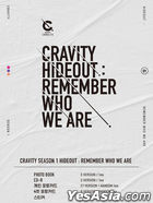 Cravity - Season 1 HIDEOUT: Remember Who We Are (Version 1 + 2 + 3) + 3 Posters in Tube