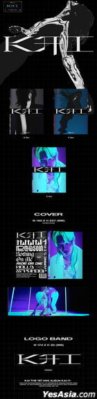 EXO: KAI Mini Album Vol. 1 - KAI (PHOTO BOOK Version) (Random Version)