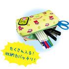 Crayon Shin-Chan Double Fastener Pen Pouch (Green)