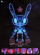 B.A.P Single Album Vol. 2 - Power + Poster in Tube
