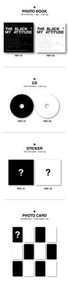 WJSN THE BLACK Single Album - My Attitude (Version 1 + 2) + 2 Posters in Tube