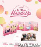 APINK - PUT YOUR HANDS UP (3DVD + Photobook + Photo Card) (Korea Version)