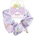 San-X Sumikko Gurashi Scrunchie (Purple)