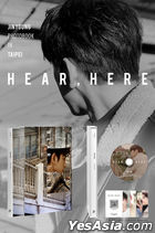 Jinyoung Photobook in TAIPEI - HEAR , HERE (Photobook + Making DVD) (Limited Edition)