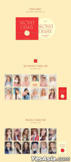 IZ*ONE - Spring Collection 'SECRET DIARY' (Photobook Package) + Poster in Tube (Photobook Package Version)
