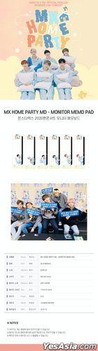 Monsta X 2020 Fan Concert 'MX Home Party' Official Goods - Monitor Memo Pad (Joohoney)