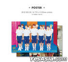 Golden Child Single Album Vol. 1 - Goldenness (Random Version) + 2 Posters in Tube