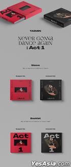 SHINee: Tae Min Vol. 3 - Never Gonna Dance Again : Act 1 (Random Version)