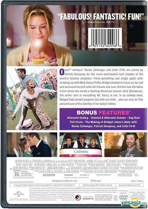 Yesasia Bridget Jones S Baby 2016 Dvd Us Version Dvd Jones Gemma Jim Broadbent Universal Studios Home Video Western World Movies Videos Free Shipping