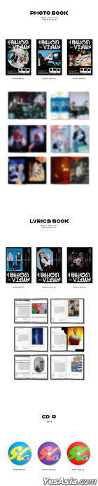 EXO-SC Vol. 1 - 1 Billion Views (Random Version) + Random Poster in Tube