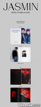 JBJ95 Mini Album Vol. 4 - JASMIN (emerald by day + ruby by night Version) + 2 Posters in Tube (emerald by day + ruby by night Version)