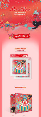 Rocket Punch Mini Album Vol. 2 – Red Punch
