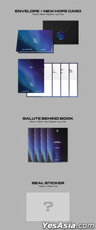 AB6IX EP Album Vol. 3 Repackage - SALUTE : A NEW HOPE (NEW + HOPE Version)