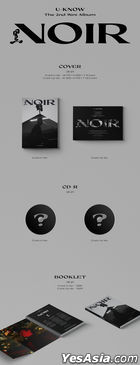 TVXQ: U-Know Yun Ho Mini Album Vol. 2 - NOIR (CRANK UP Version)