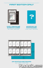 TREASURE Vol. 1 - THE FIRST STEP : TREASURE EFFECT (BLUE Version) + Double Sided Poster in Tube