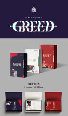 Kim Woo Seok Solo Album Vol. 1 - 1st Desire [GREED] (W Version)