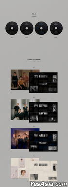 NU'EST Mini Album Vol. 8 - The Nocturne (Version 4)