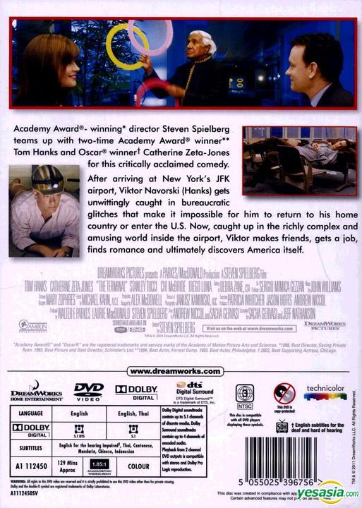 Yesasia The Terminal 2004 Dvd Hong Kong Version Dvd Tom Hanks Stanley Tucci Intercontinental Video Hk Western World Movies Videos Free Shipping North America Site