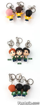 EXO Figure Keyring 2020 YOU WIN Edition (2020 Ribbon + Photo Card + Mirror) (Chen) (Type A / Sky)