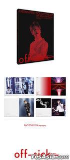 Tae Min 1st Solo Concert OFF-SICK <ON TRACK> (Kihno Video) (Outbox + Kihno Video Kit + Kihno Bag + Photobook + Lenticular Card) (Korea Version)