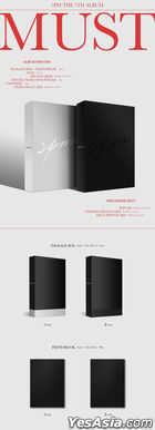 2PM Vol. 7 - MUST (A + B Version) + 2 First Press Gifts