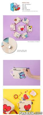 BT21 x Kumhong Fancy - Canvas Slim Pouch (COOKY)