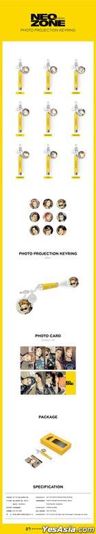 NCT 127 - Photo Projection Keyring (Johnny)