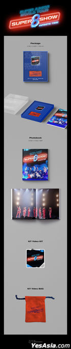 Super Junior World Tour 'SUPER SHOW 8 : INFINITE TIME' (Kihno KiT Video + Photobook) (Korea Version)