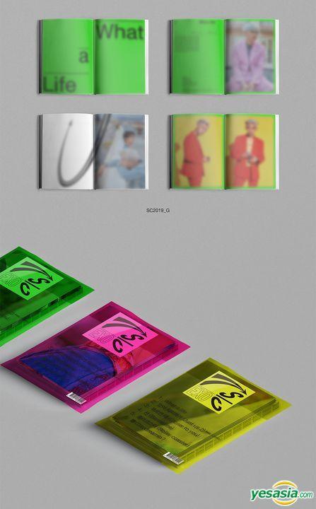 Yesasia Image Gallery Exo Sc Mini Album Vol 1 What A Life Sc2019 Y Sc2019 P Sc2019 G Version