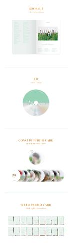 SF9 Mini Album Vol. 8 - 9loryUS (GOLDEN CHASER Version) + Poster in Tube (GOLDEN CHASER Version)