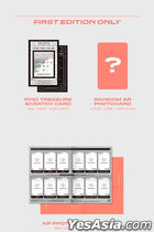 TREASURE Vol. 1 - THE FIRST STEP : TREASURE EFFECT (ORANGE Version) + Double Sided Poster in Tube