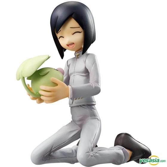 Megahouse GEM model Digimon Ken and Wormmon pvc figure