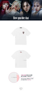 BLACKPINK H.Y.L.T Official Goods - T-shirt (Melting Heart) (White) (Large)