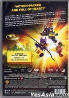 The LEGO Batman Movie (2017) (DVD) (Hong Kong  Version)