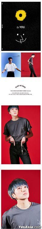 Winner - PLAC X MINO YOON Face T-shirt (Charcoal) (Large)