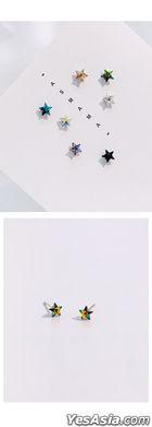 BTS: Suga Style - Rainbow Star Piercing (Piercing) (Topaz)