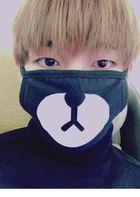 BTS : V Style - Hero Black Mask ( X )
