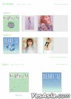 IZ*ONE Mini Album Vol. 2 - HEART*IZ (Violeta Version) (Random Member Autographed CD) (Limited Edition)