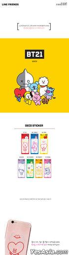 BT21 Mobile Deco Sticker - TATA