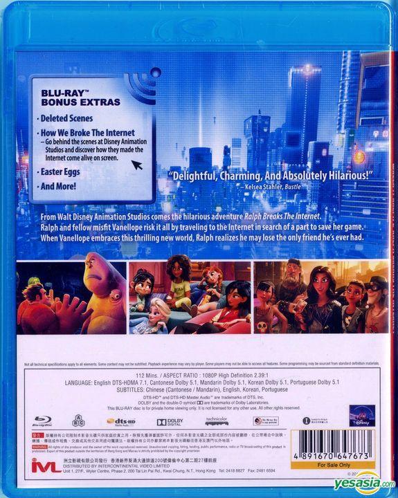 Yesasia Ralph Breaks The Internet 2018 Blu Ray Hong Kong Version Blu Ray Rich Moore Phil Johnston Intercontinental Video Hk Western World Movies Videos Free Shipping