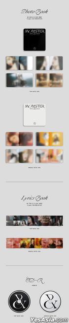 Red Velvet - IRENE & SEULGI Mini Album Vol. 1 - Monster (Top Note + Middle Note Version) + 4 Posters in Tube (Top Note + Middle Note Version)