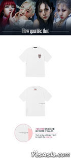 BLACKPINK H.Y.L.T Official Goods - T-shirt (Melting Heart) (White) (Medium)