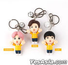 EXO Figure Keyring 2020 YOU WIN Edition (2020 Ribbon + Photo Card + Mirror) (Lay) (Type B / Pink)